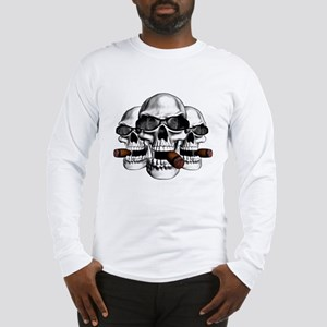 Cool Skulls Long Sleeve T-Shirt