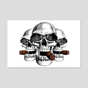 Cool Skulls Mini Poster Print