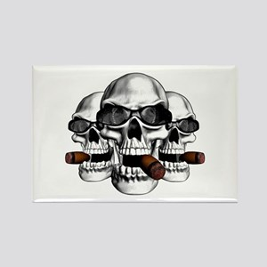 Cool Skulls Rectangle Magnet