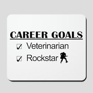 Veterinarian Career Goals - Rockstar Mousepad