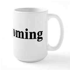 I Love Wyoming Large Mug