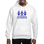 Spread The Love Hooded Sweatshirt