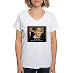 Hope for America Women's V-Neck T-Shirt