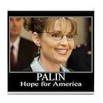 Hope for America Tile Coaster