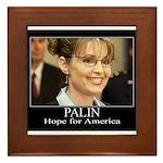 Hope for America Framed Tile