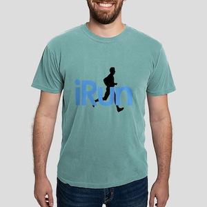 iRun in Blue T-Shirt
