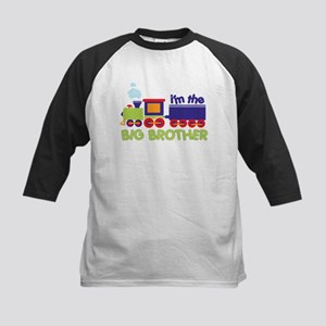 train big brother t-shirts Kids Baseball Jersey