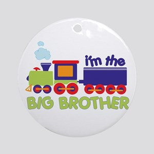 train big brother t-shirts Ornament (Round)