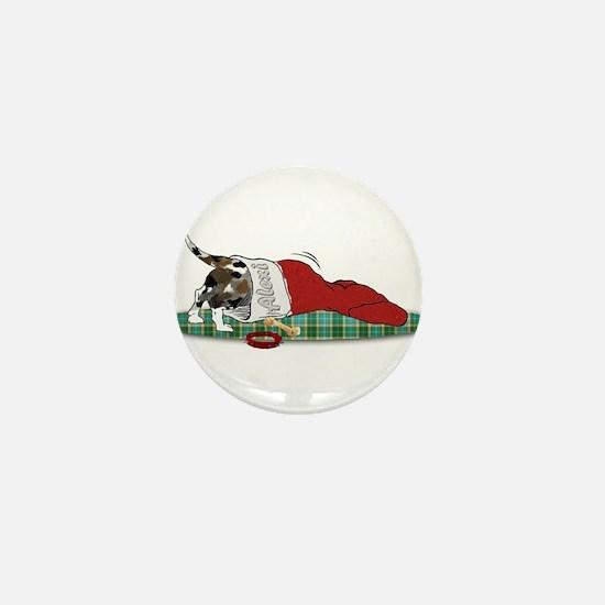 Catahoula Raiding Christmas S Mini Button