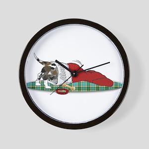 Catahoula Raiding Christmas S Wall Clock