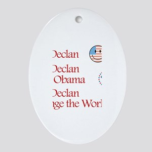 See Declan Vote Obama Oval Ornament