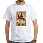 Fates Fall by the Cards White T-Shirt