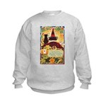 Fates Fall by the Cards Kids Sweatshirt