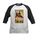 Fates Fall by the Cards Kids Baseball Jersey