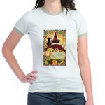 Fates Fall by the Cards Jr. Ringer T-Shirt