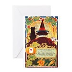 Fates Fall by the Cards Greeting Card