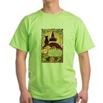 Fates Fall by the Cards Green T-Shirt