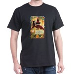 Fates Fall by the Cards Dark T-Shirt