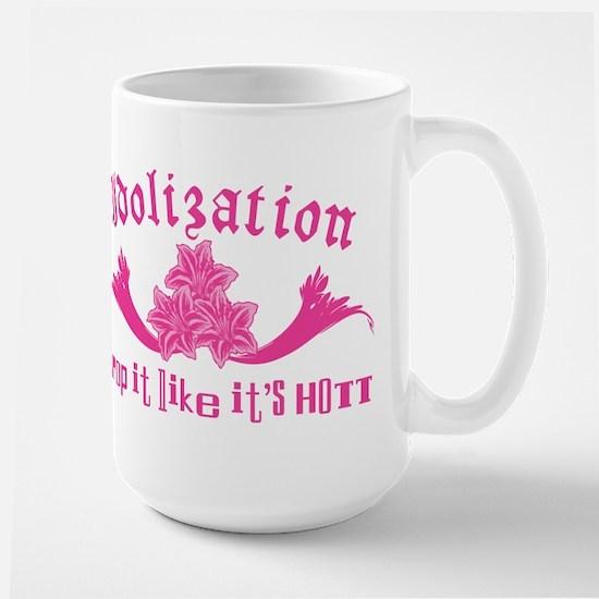 Idolization ~ Drop it like it Large Mug