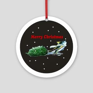 yellowfin tuna Ornament (Round)