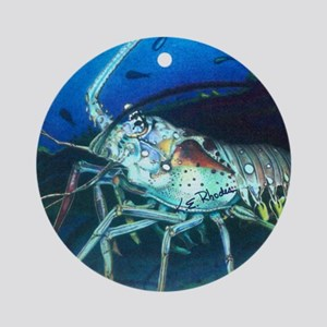 Larry Lobster Ornament (Round)