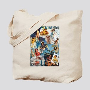 Cowgirl Pin-Ups No. 2 Tote Bag