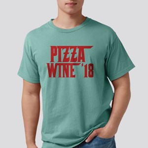 Pizza And Wine 18 2018 Foodie Drinker Food T-Shirt