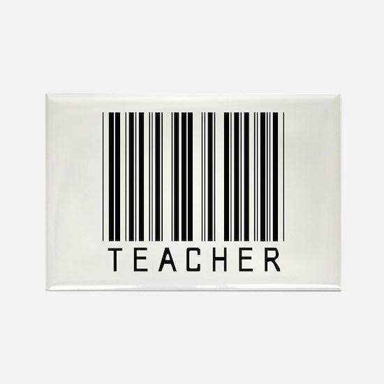 Teacher Barcode Rectangle Magnet (100 pack)