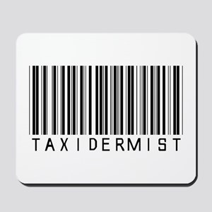 Taxidermist Barcode Mousepad