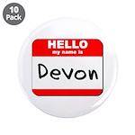 Hello my name is Devon 3.5
