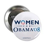 """Women for Obama"" 2.25"" Button (100"