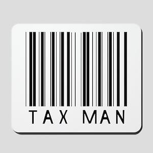 Tax Man Barcode Mousepad