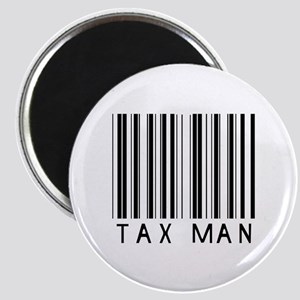 Tax Man Barcode Magnet