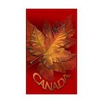 Canada Souvenir Sticker 50 pack Maple leaf Art