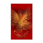 Canada Souvenir Sticker 50 pack Maple leaf Art