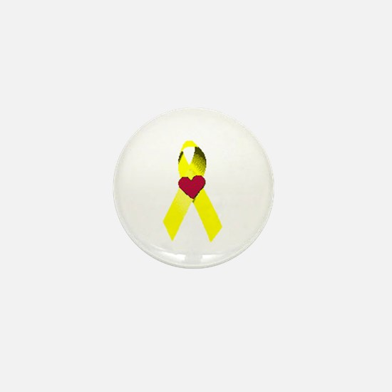 """""""SB Awareness Ribbon"""" Mini Button"""