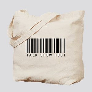 Talk Show Host Barcode Tote Bag