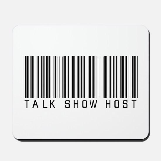 Talk Show Host Barcode Mousepad