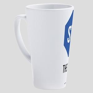Stop the Duopoly 17 oz Latte Mug