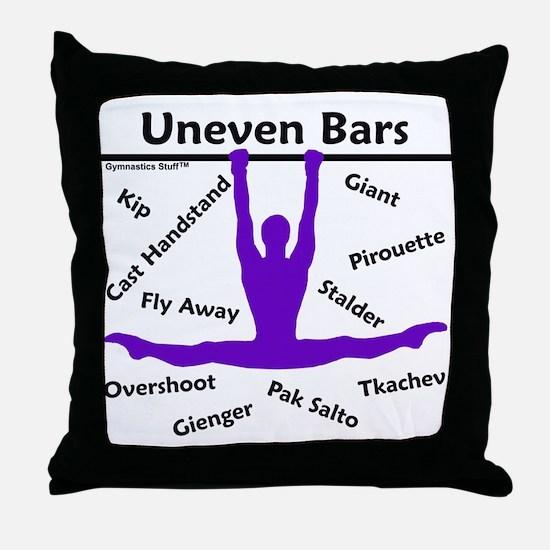 Gymnastics Pillow - Bars