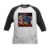 Kids dinosaur Baseball T-Shirt