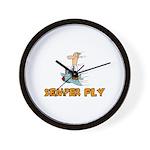 Semper Fly Wall Clock