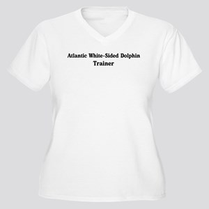 Atlantic White-Sided Dolphin Women's Plus Size V-N