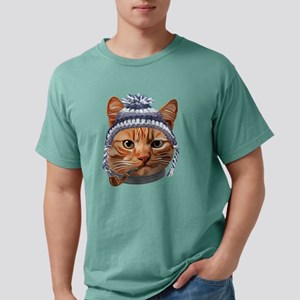 Cat Kitty Kitten In Clothes Pipe Toque Bea T-Shirt