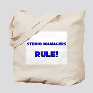Studio Managers Rule! Tote Bag