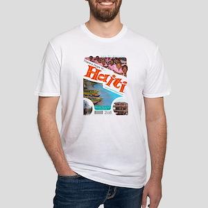 'Haiti Mina 2008' Fitted T-Shirt