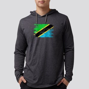 Tanzania Shirt Gift Country Fl Long Sleeve T-Shirt