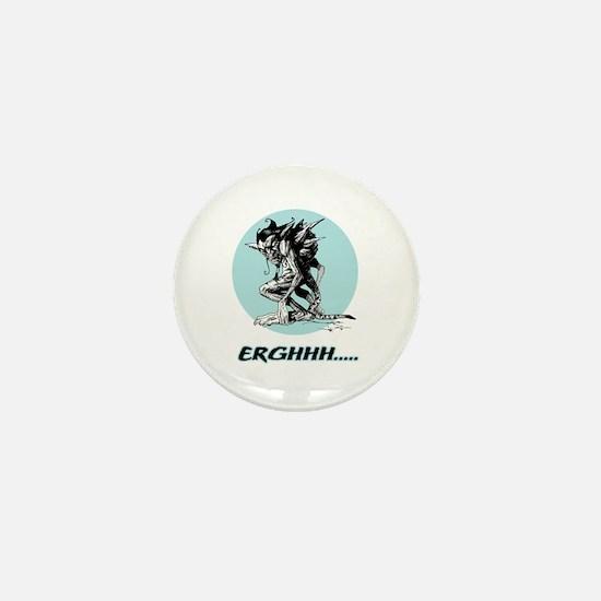 Grim Gargoyle Mini Button