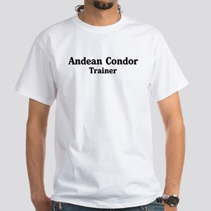 Andean Condor trainer White T-Shirt