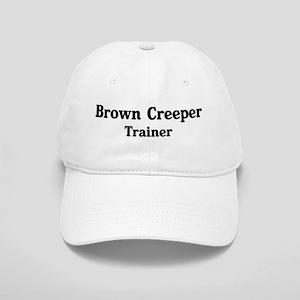 Brown Creeper trainer Cap